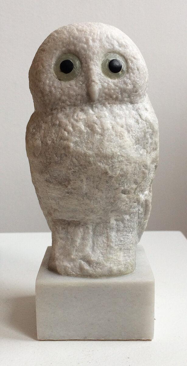 Barbara Perquin, Misty , grieks marmer / groene calciet 500