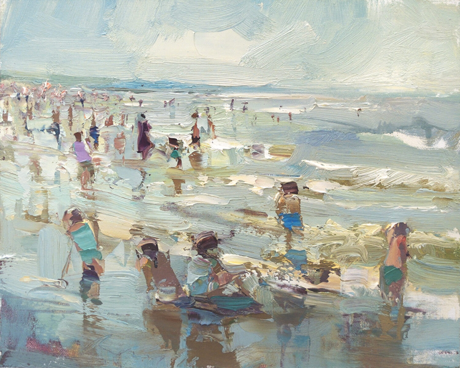 Roos Schuring, 'Summer's Day at the Beach' ,