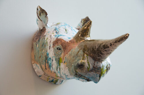 Marijke Gemessy, Rhino portret 03083 ,