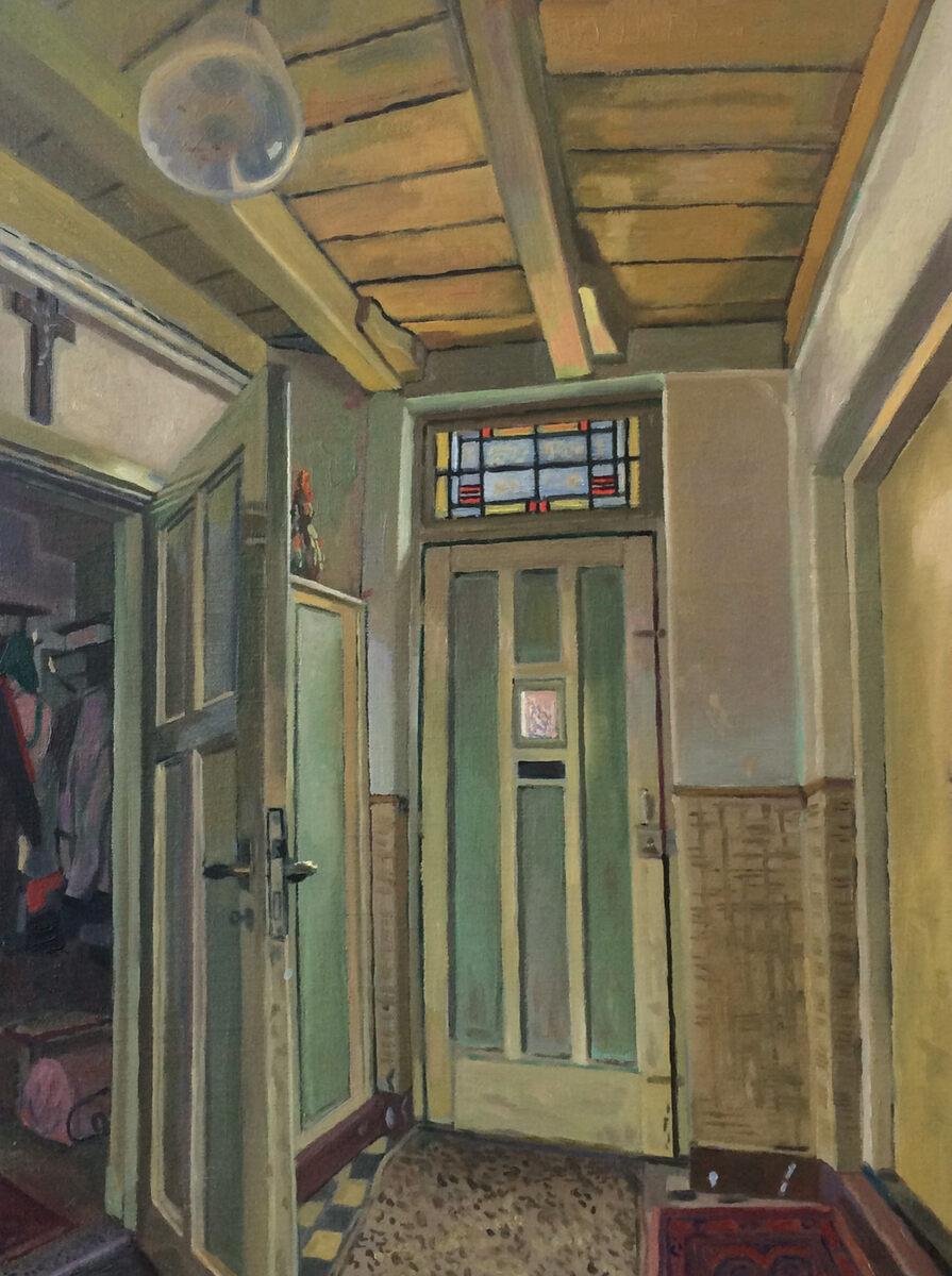 Toine Moerbeek  De oude deur