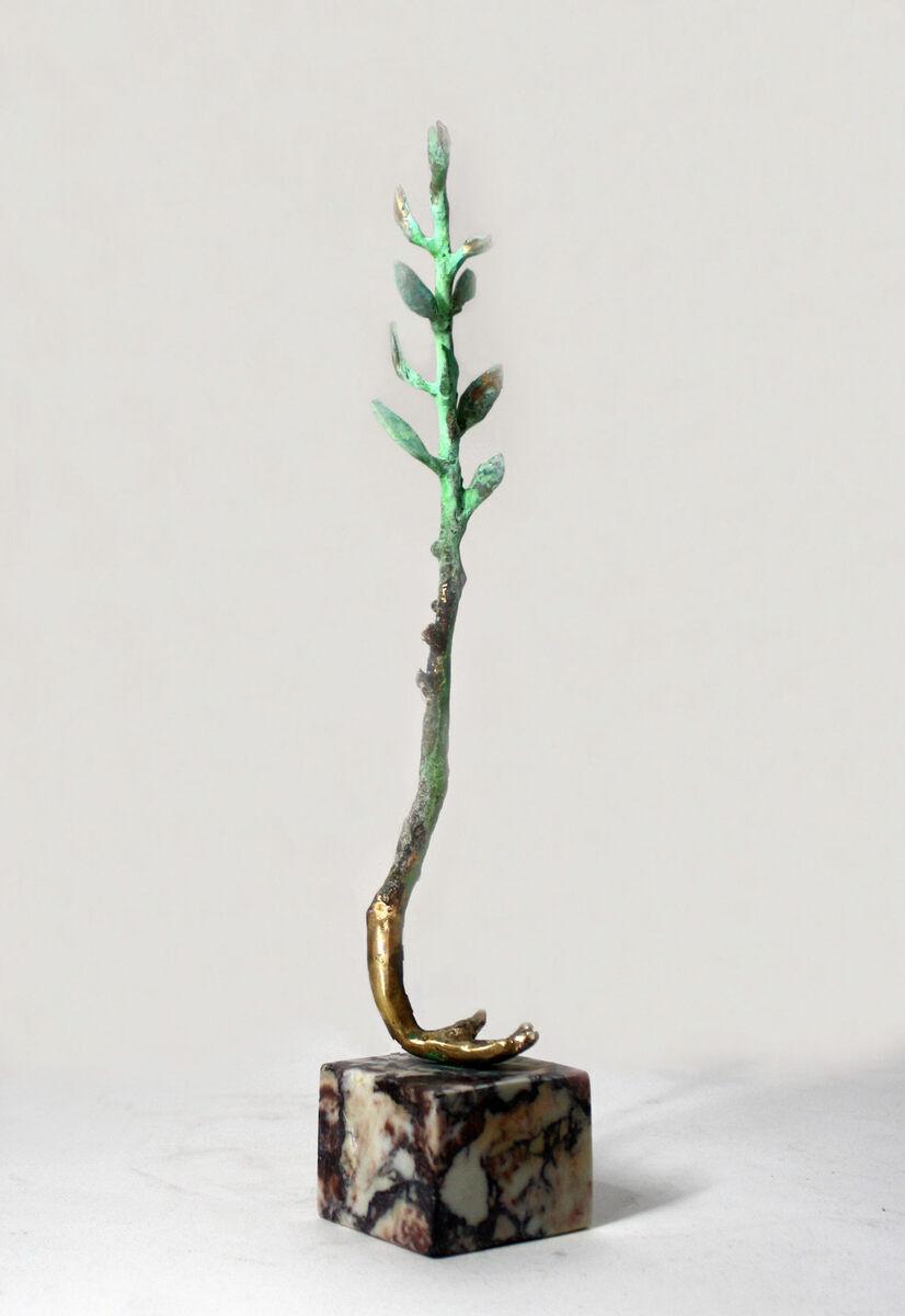 Barbara Perquin  Peace 3  brons unicum