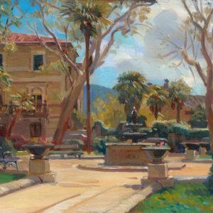 Hans Versfelt  'Italiaans plein'