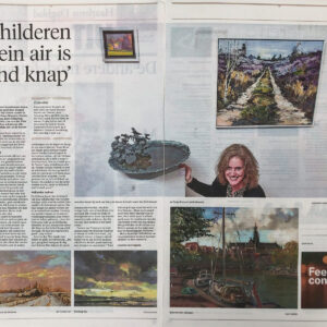 Haarlems Dagblad, plein air 2019  ''