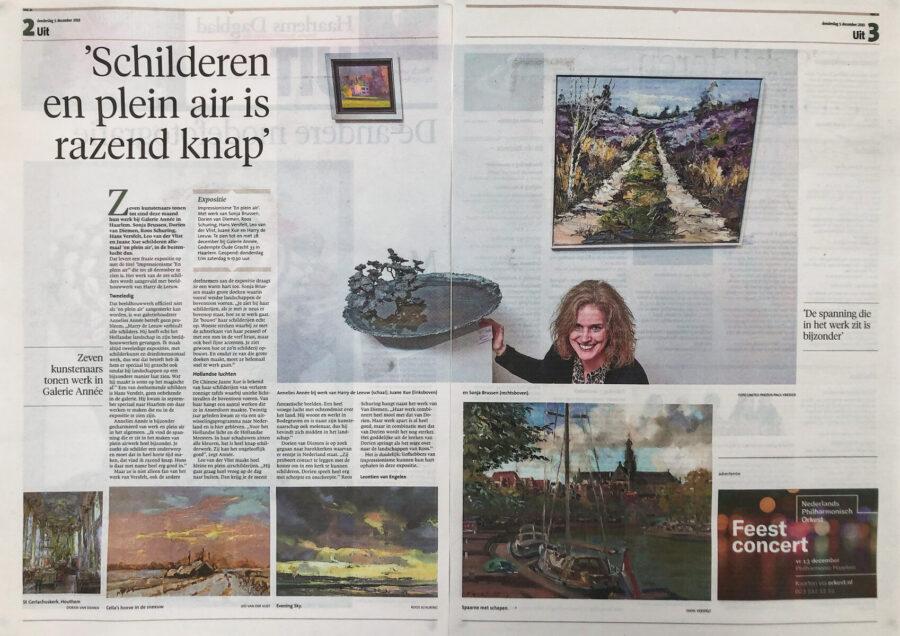 Haarlems Dagblad, plein air 2019